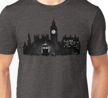 Police Box in London Unisex T-Shirt