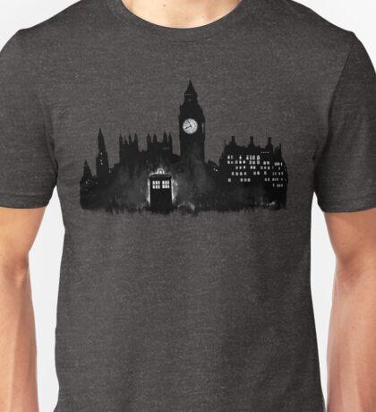 Police Box in London Unisex T-Shirt