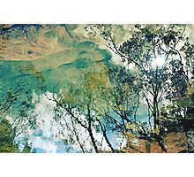 Upside Down Reflections Downunder Photographic Print