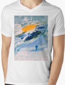 GLACIER Mens V-Neck T-Shirt