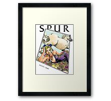 Jojo x Gucci Spur Magazine cover Framed Print