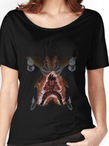 Goku (Kaio-Ken) and Vegeta (Saiyan Saga) Women's Relaxed Fit T-Shirt
