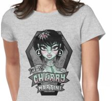 Miss Cherry Martini Womens Fitted T-Shirt