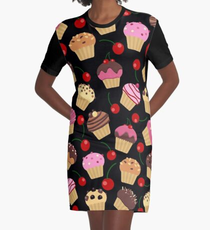 You can't buy happiness, but you can buy many muffins Graphic T-Shirt Dress