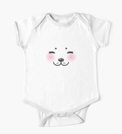 Seal baby face One Piece - Short Sleeve