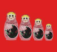 matryoshka doll  Kids Tee