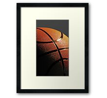 Basketball Sport Framed Print