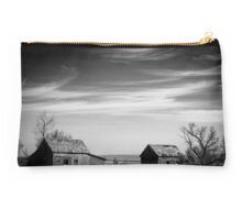 North Dakota Study in B&W V Studio Pouch