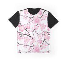 Sakura Cherry Blossoms Graphic T-Shirt