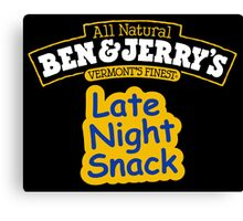 BEN AND JERRY Canvas Print