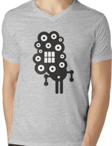 Robots in cell. Mens V-Neck T-Shirt