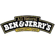 BEN AND JERRY Photographic Print