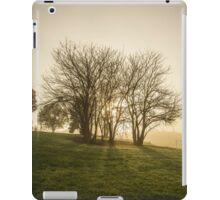 The dawn trees iPad Case/Skin