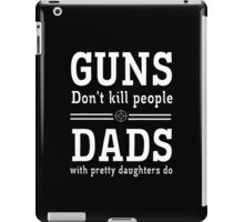 guns deads iPad Case/Skin