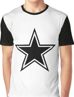 Black Stars Graphic T-Shirt
