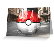 Pokemon when you're on the GO  Greeting Card