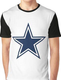 Blue Stars Graphic T-Shirt