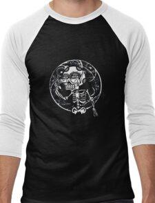 skull glasses Men's Baseball ¾ T-Shirt
