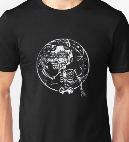 skull glasses Unisex T-Shirt