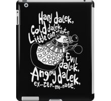 hard dalek iPad Case/Skin