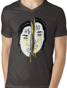 Asap Art Mens V-Neck T-Shirt