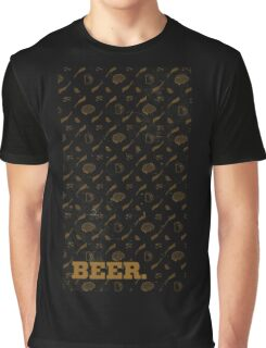 BEER Graphic T-Shirt