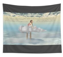 Valparaiso DD tapestry/tenture + Texte Fr © E.Tchijakoff Wall Tapestry