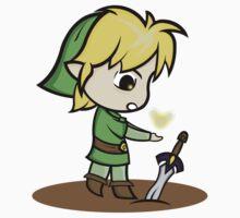 The Legend of Link Baby Tee