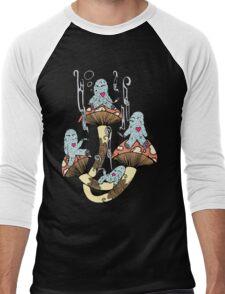 Four Little Monsters Men's Baseball ¾ T-Shirt