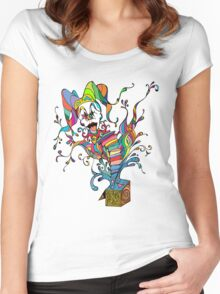 Jack In The Box Women's Fitted Scoop T-Shirt