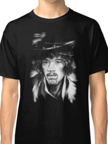 Jimmy in Black and White Classic T-Shirt