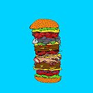 Ze Ultimate Burger by Octavio Velazquez