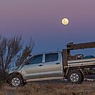 Super Moon Watching by Rick Playle