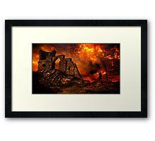 Mad Max 2099 Framed Print
