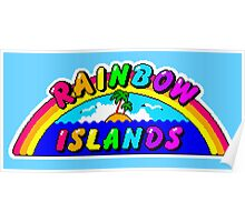 Rainbow Islands Title Poster