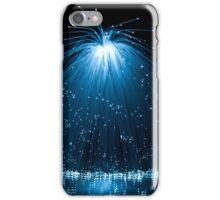Fiber optic cascade. iPhone Case/Skin