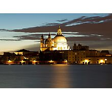 basilica in venice Photographic Print