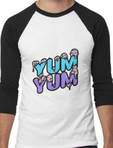 YUM YUM - Strawberry version Men's Baseball ¾ T-Shirt