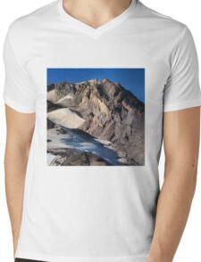Mt. Hood Crown Mens V-Neck T-Shirt