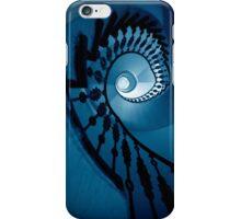 Spirals in blue tones iPhone Case/Skin