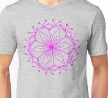 Pink Lotus Mandala Unisex T-Shirt