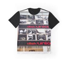 Disk Union records shop, Shinjuku, Tokyo, Japan Graphic T-Shirt