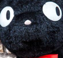 Black cat doll, Shimokitazawa, Tokyo, Japan Sticker