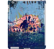 SEA BATHING AT THE GROTTO iPad Case/Skin