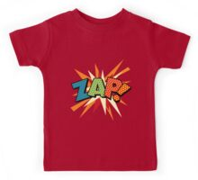 Comic Book Pop Art ZAP! Kids Tee