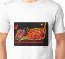 Neon sign, Sapporo, Hokkaido, Japan Unisex T-Shirt