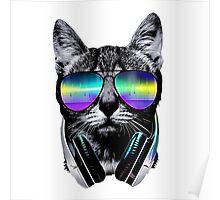 DJ Cat  Poster