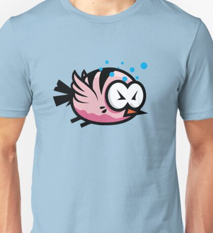 Tired Cute Bird Unisex T-Shirt