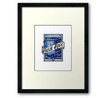 Blue Box Framed Print