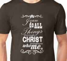 Christian Philippians white Unisex T-Shirt